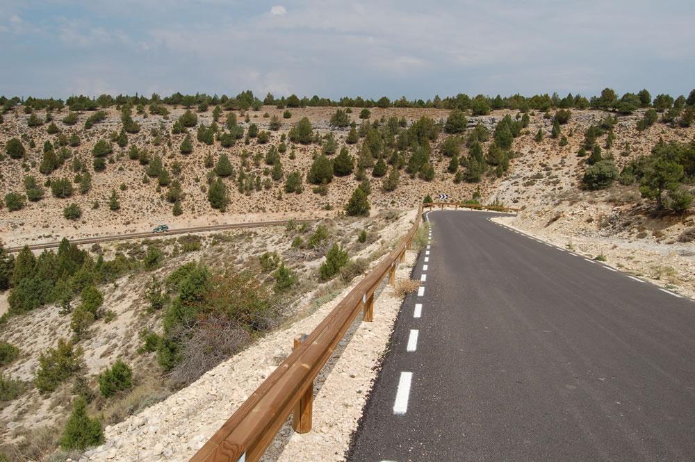 Barreras  Seguridad. Camino Fuentona. Soria