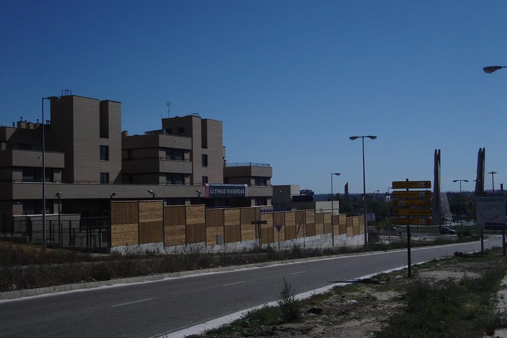 Pantallas acusticas. Valladolid. Valladolid