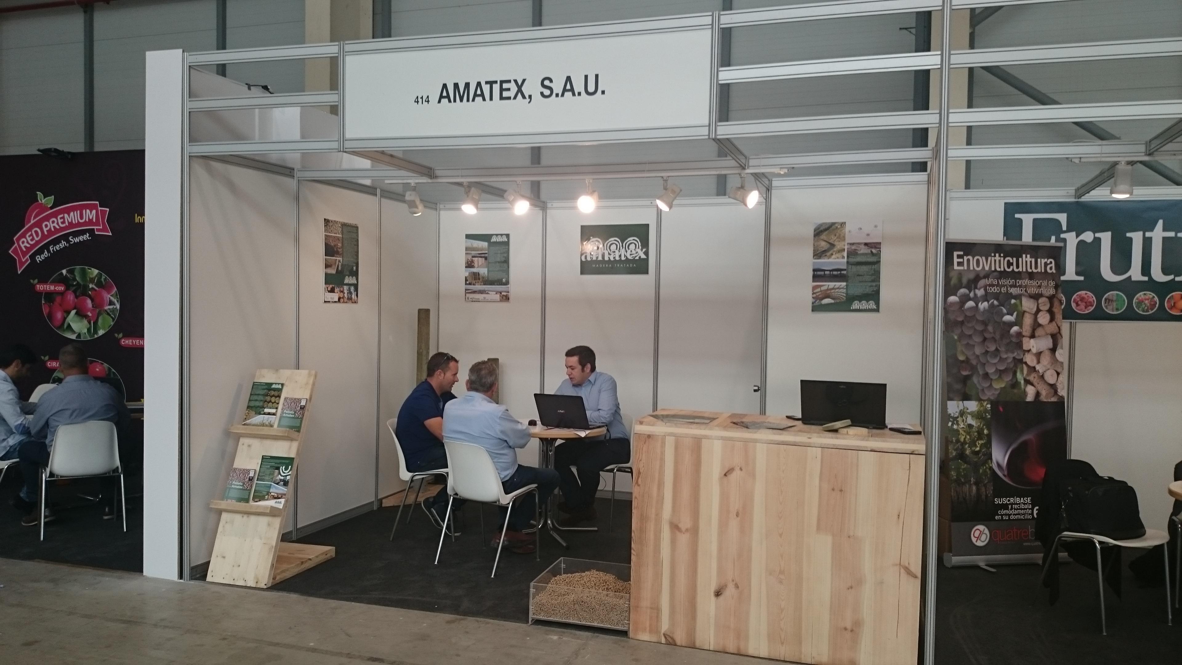 Amatex ya está en Eurofruit 2016 en Lleida