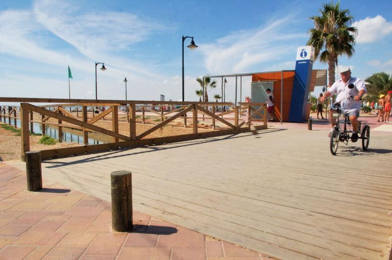 Pasarelas. San Pedro del Pinatar. Alicante