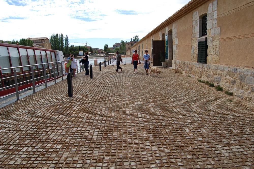 Pavimentos. Medina de Rioseco. Valladolid