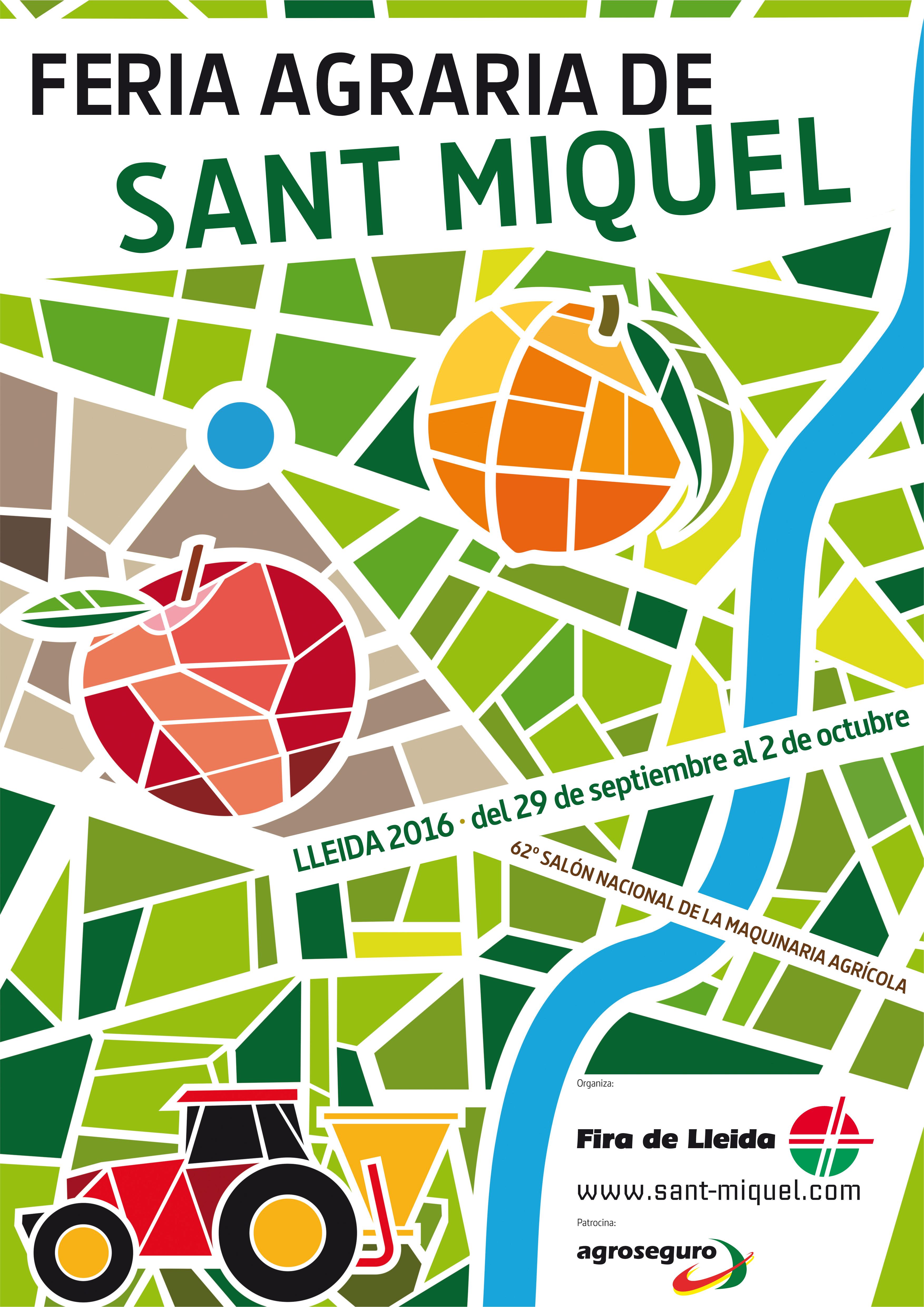 Cartel Feria San MIquel 2016