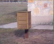 Mobiliario urbano. .