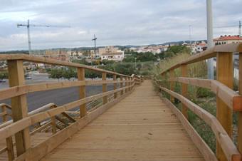 Pasarelas. Torredembarra. Tarragona