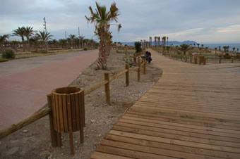 Pavimentos. El Toyo. Almería