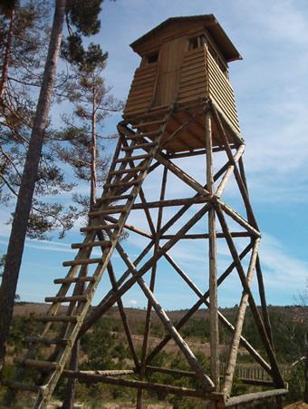 Torretas-Chiringuitos. Cabrejas del Pinar. Soria