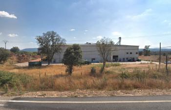 Fábrica de biomasa en Mombeltrán