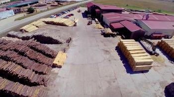 Fábrica y oficinas centrales (Cabrejas del Pinar)