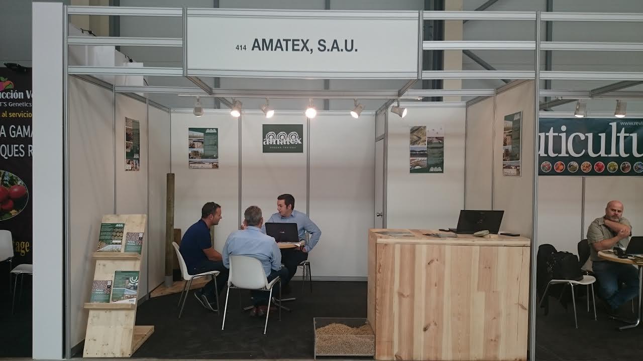 Amatex muestra sus productos en Eurofruit Sant Miquel de Lleida